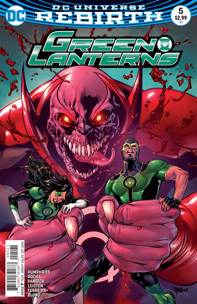 Green Lanterns #5 (Lupacchino Variant Cover Edition)