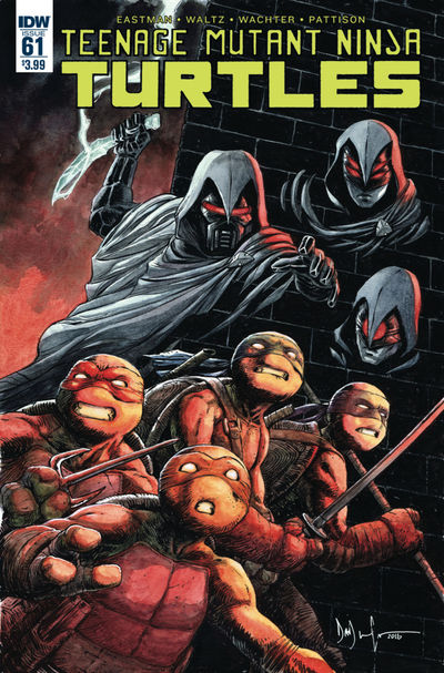 Teenage Mutant Ninja Turtles #61 JUN160414E