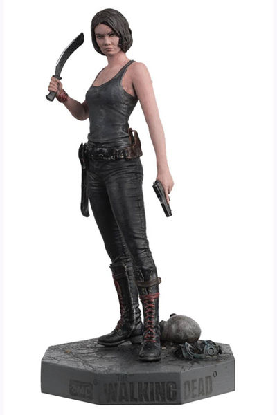 Walking Dead Figure Coll Mag #16 Maggie JUN162404U