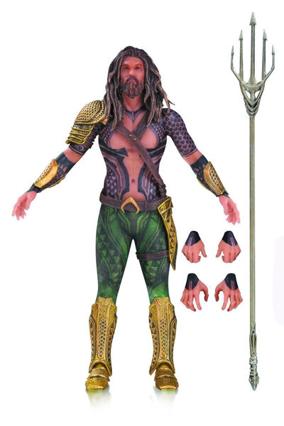 DC Films Batman vs. Superman Aquaman Action Figure JUN168034Y