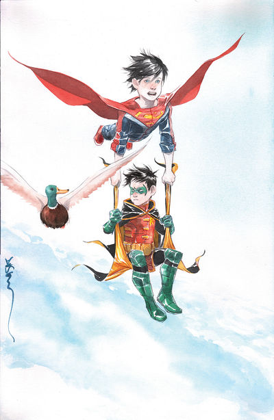 Super Sons #7 (Nguyen Variant Cover Edition)