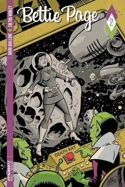 Bettie Page #2 (Cover B - Chantler)