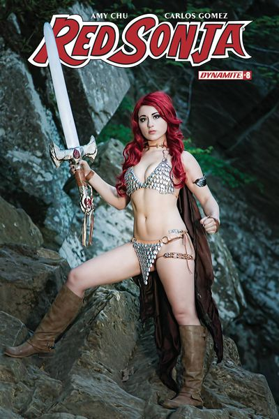 Red Sonja #8 (Cover D - Cosplay)