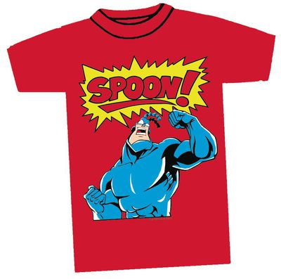 Image of Tick Spoon Red T-Shirt XXL