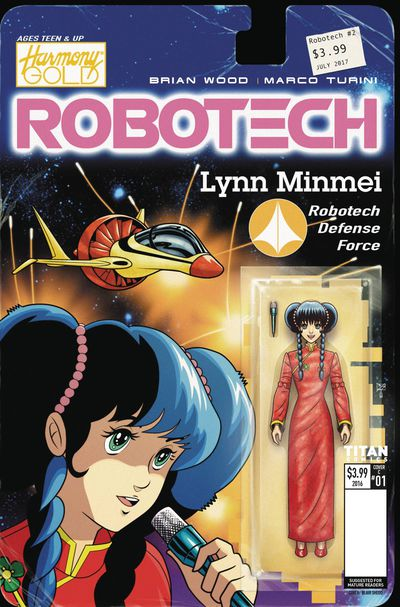 Robotech #2 (Cover C - Action Figure Variant) JUN171993F