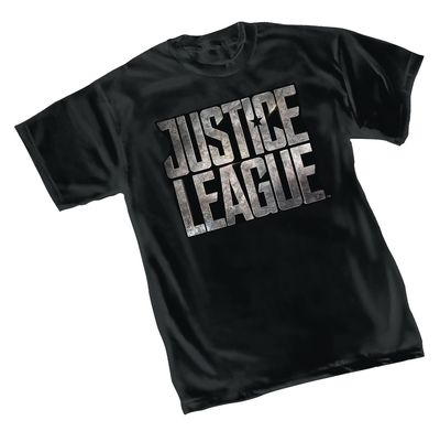 Image of Justice League Movie Logo T-Shirt MED