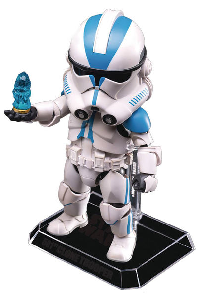 Star Wars Episode 3 EAA-031D 501st Clone Trooper Previews Exclusive Action Figure JUN173085J