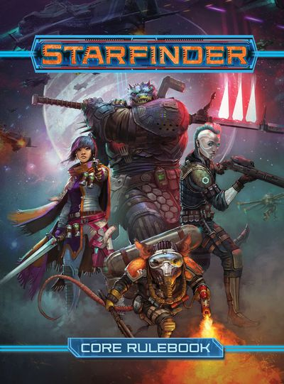 Starfinder RPG Core Rulebook HC