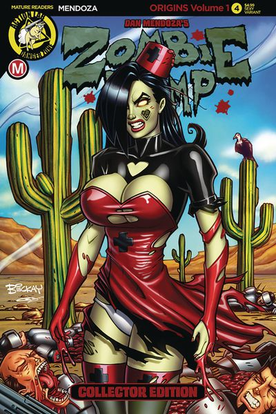 Zombie Tramp Origins #4 (Cover C - McKay)