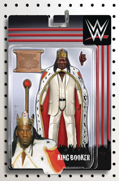 WWE #20 (Riches Action Figure Variant) JUN181232