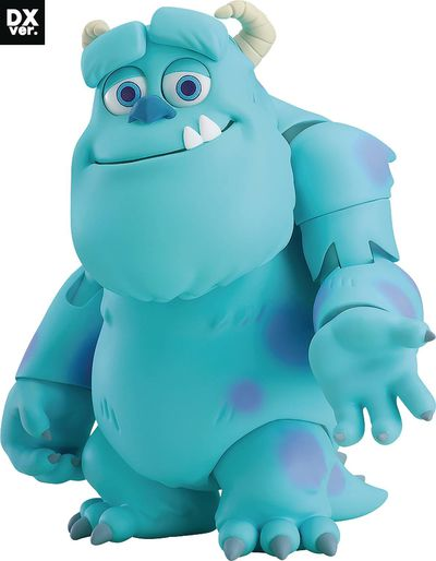 Monsters Inc Sulley Nendoroid Action Figure Deluxe Ver JUN182638