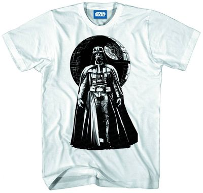 Star Wars Vader World Previews Exclusive Wht T-Shirt SM MAR131604U