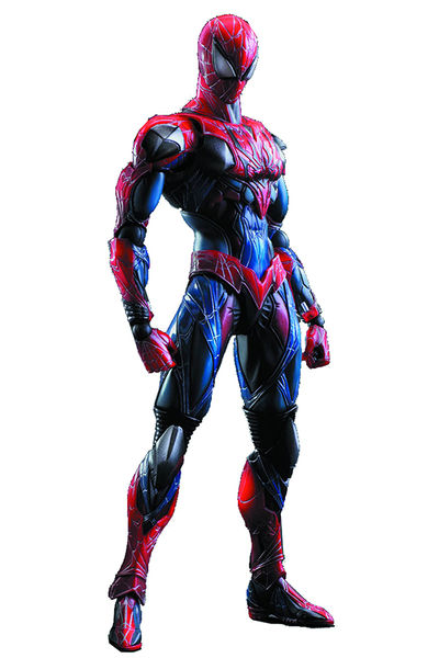 Marvel Comics Variant Play Arts Kai Spider-Man Action Figure MAR158235I