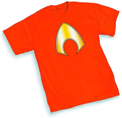 Image of Aquaman Symbol T-Shirt SM