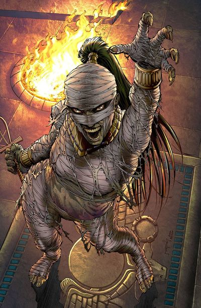 Grimm Fairy Tales Van Helsing vs. The Mummy Of Amun Ra #5 (of 5) (Cover D - Metcalf)