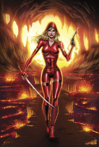 Grimm Fairy Tales Red Agent Human Order #7 (Cover A - Goh)