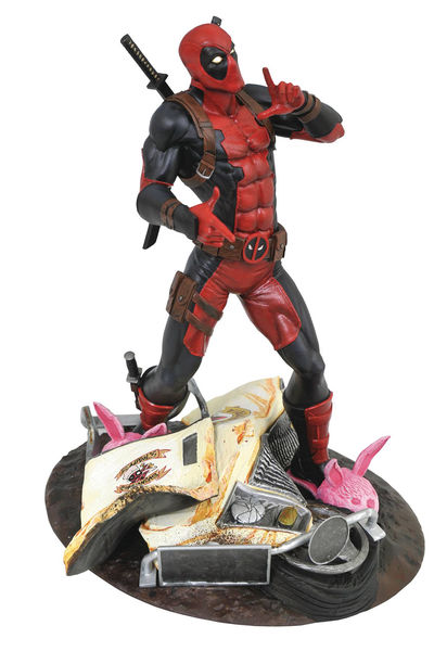 Marvel Gallery Taco Truck Deadpool PVC Statue MAR182429