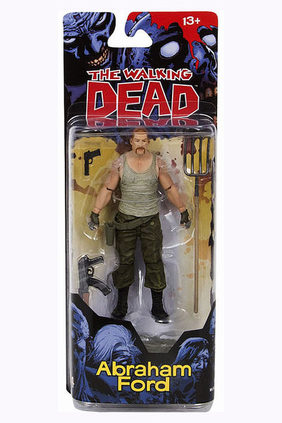 Walking Dead Comic Series 4 Abraham Action Figure MAY150634SINGLE