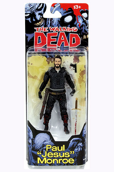 Walking Dead Comic Series 4 Jesus Action Figure MAY150636SINGLE