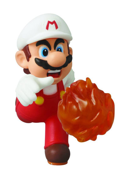 Nintendo New Super Mario Bros U Fire Mario Udf Series 2 MAY152451U
