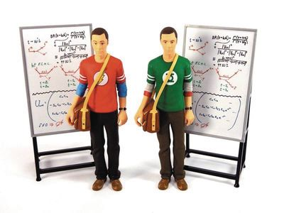 Big Bang Theory Sheldon Cooper Red Flash Shirt 7in Action Figure MAY162924I