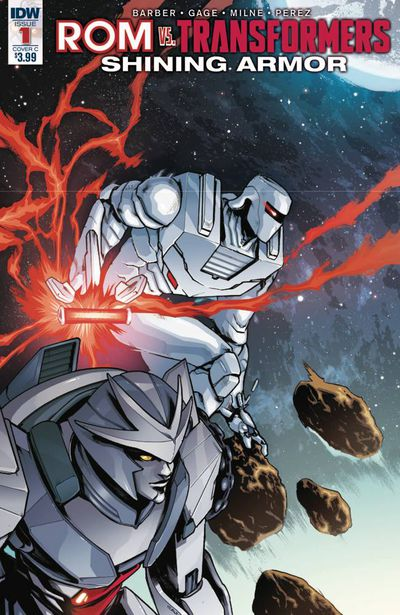 Rom vs. Transformers Shining Armor #1 (Cover C - Villanelli) MAY170397E