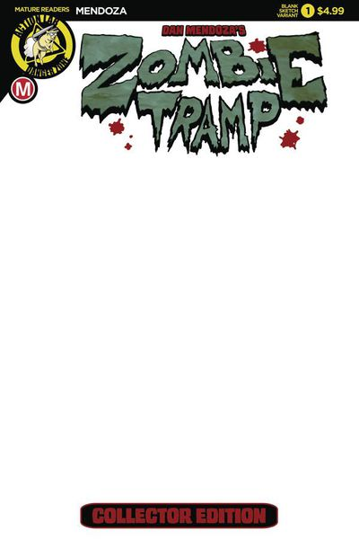 Zombie Tramp Origins #1 (Cover H - Blank) MAY171039E