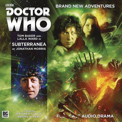 Doctor Who 4th Doctor Adv Subterranea Audio CD