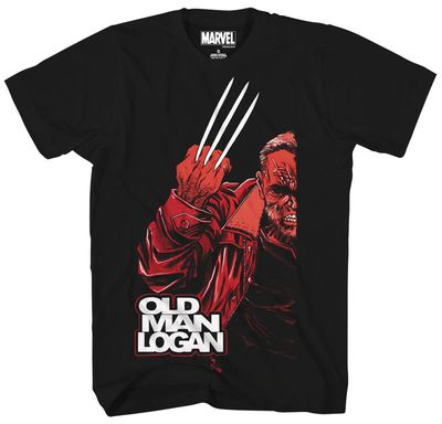 Image of Marvel Three Reasons Black T-Shirt SM