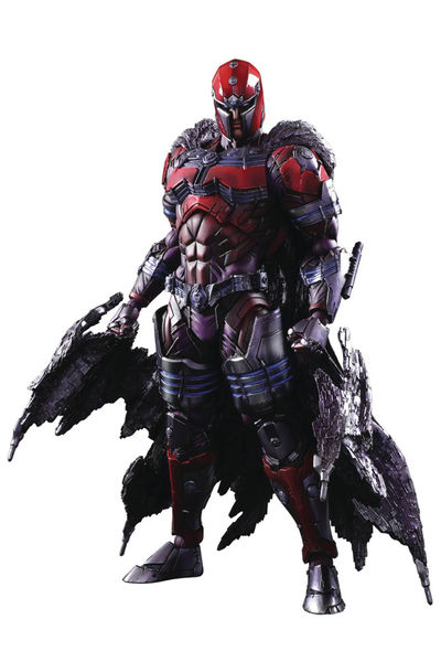Marvel Universe Variant Play Arts Kai Magneto Action Figure MAY172942I