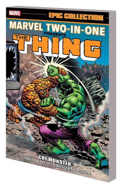 Marvel Two in One Epic Collection TPB Cry Monster MAY180989