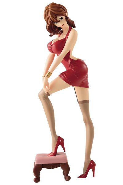 Lupin the Third Glitter & Glamour Fujiko Red Dress Figure MAY182681