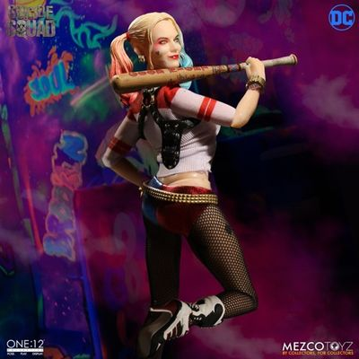 One-12 Collective Suicide Squad Harley Quinn Action Figure MEZCO-76410