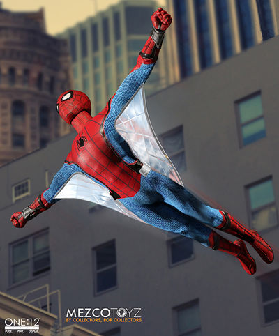 One-12 Collective Spider-Man Homecoming Action Figure MEZCO-76760