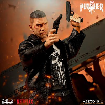 One-12 Collective Netflix Punisher Action Figure MEZCO-76780