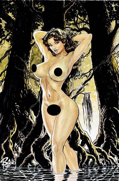 Cavewoman Labyrinth Budd Root Sp Nude Ed Adult