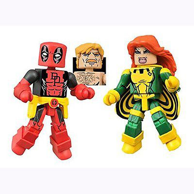 Marvel Minimates Series 65 Deadpool - Secret Wars Deadpool and X-Force Siryn NOV152185B-2
