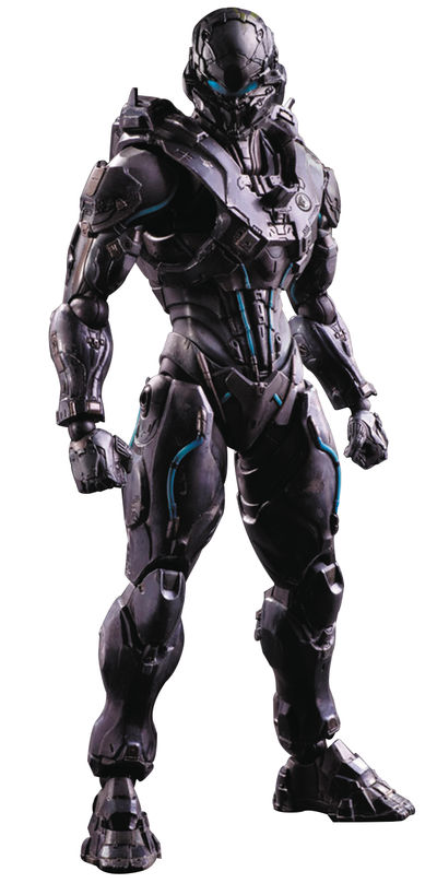 Halo 5 Play Arts Kai Spartan Locke Action Figure NOV158472I