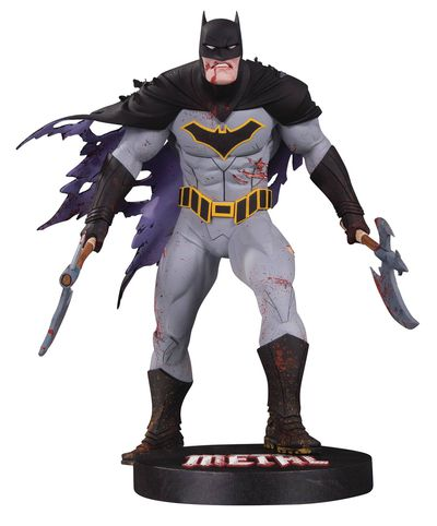 DC Designer Series Metal Batman Statue by Capullo NOV170394