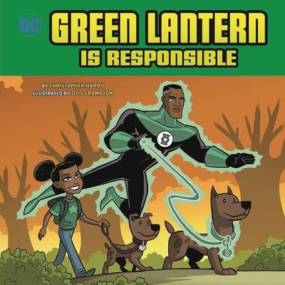 Green Lantern Is Responsible Yr Picture Book NOV172173