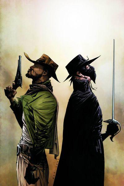 Django Zorro #2 (of 6) Rare Lee Virgin Art Ed