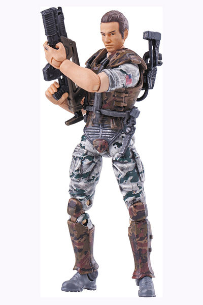 Aliens: Colonial Marine Hicks Previews Exclusive 1/18 Scale Figure OCT158458U