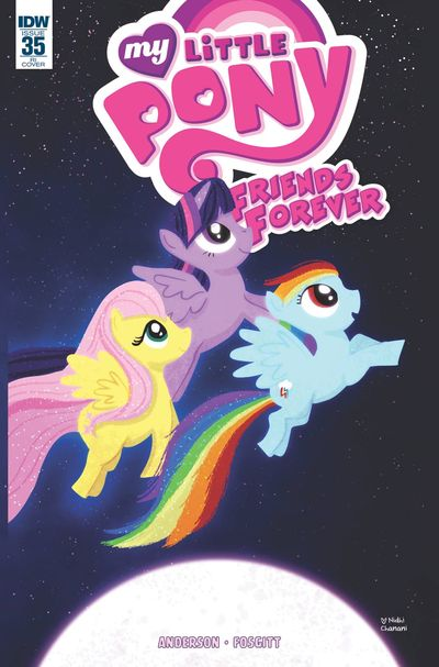 My Little Pony Friends Forever #35 (Retailer 10 Copy Incentive Variant Cover Edition)