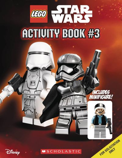 Lego Star Wars Activity Book With Figure #3 OCT162192F