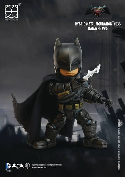 Batman Vs. Superman Hybrid Metal Figuration Figures - HMF-033 Batman Action Figure OCT169190U