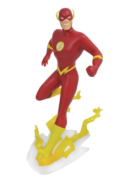 DC Gallery Justice League Animated Flash PVC Figure OCT172363