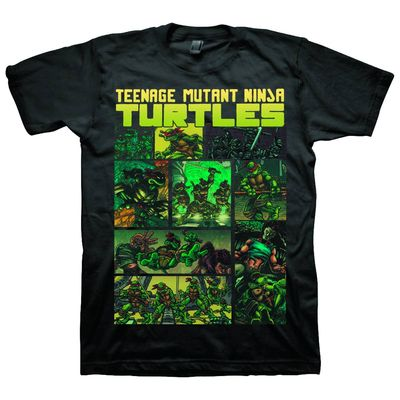 TMNT Comic Strip Exclusive T-Shirt