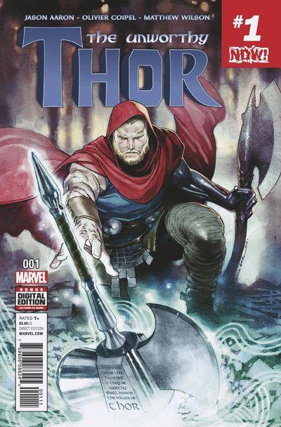 The Unworthy Thor comics at TFAW.com