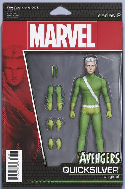Avengers #1.1 (Christopher Action Figure Variant Cover Edition) SEP160928D