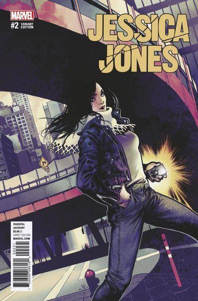 Jessica Jones #2 (Shirahama Variant Cover Edition)